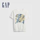 Gap男童 潮酷純棉印花短袖T恤 683...