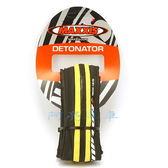 *阿亮單車*公路車可折防刺胎,黑黃雙色,700X23C,DETONATOR,MAXXIS《A23-551》