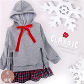聖誕-連帽綁帶拉鍊造型上衣(厚棉,內絨毛)禦寒保暖(260523)★水娃娃時尚童裝★