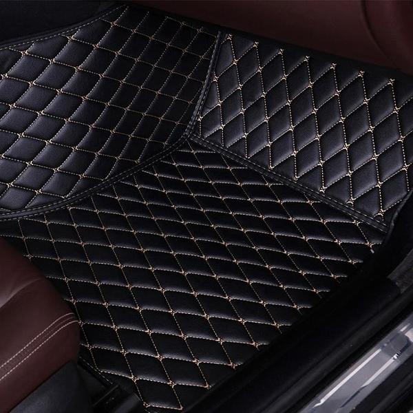 汽車腳墊單個副駕駛位專用副座全包圍后排單片腳踏墊新款后座地墊 【端午節特惠】