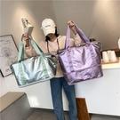 旅行包 手提旅行包女短途可套拉桿箱大容量輕便出差待產收納袋健身行李包