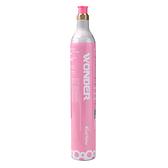 【回充交換鋼瓶】HOMSON 多功能健康氣泡水機 TM-SAU03R 配件:二氧化碳氣瓶(425g) 桃紅色(限同款鋼瓶)