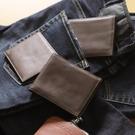 男士錢包工裝短款皮夾「草莓妞妞」