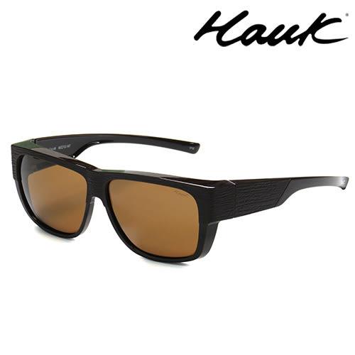 HAWK偏光太陽套鏡(眼鏡族專用)HK1017-48