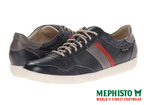 【Mephisto促銷3折】Mephisto 法國工藝皮革休閒鞋 墨綠