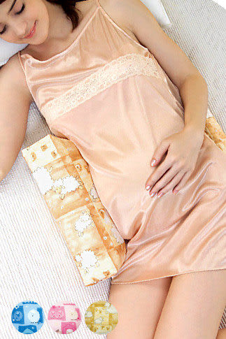 【奇買親子購物網】六甲村 Mammy village可調式孕婦側睡枕
