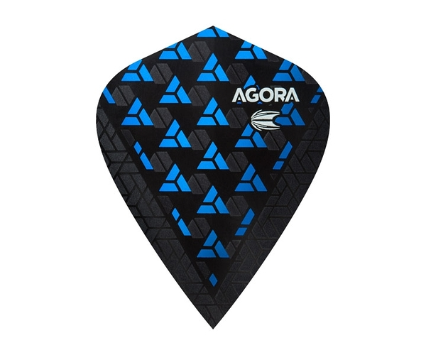 【TARGET】VISION ULTRA GHOST KITE AGORA Blue 332620 鏢翼 DARTS