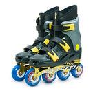 LIKA夢 D.L.D 多輪多 鋁合金底座 專業競速直排輪 溜冰鞋 鐵灰銀 FS-1