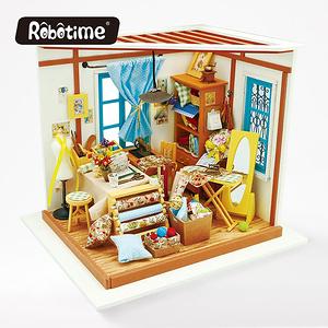 ROBOTIME|DIY木製小屋-麗莎裁縫店Lisa s Tailor