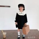 快速出貨 女童洋裝女童洋裝裝裙子寶寶宮廷風兒童洋氣刺繡公主裙潮