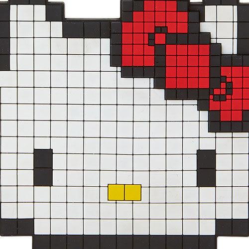 【震撼精品百貨】Hello Kitty 凱蒂貓~HELLO KITTY趣味點陣系列大臉造型矽膠鏡