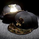 12十二星座帽子潮男射手座棒球帽處女座鴨舌帽大碼個性平沿嘻哈帽