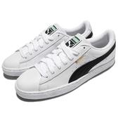 Puma 休閒鞋 Basket Classic LFS 白 黑 金標 基本款 皮革 男鞋 女鞋【ACS】 35436722