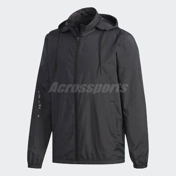 adidas 連帽外套 Originals WD NMD Jacket 黑 男款 風衣外套 DX4221