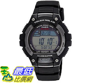 [美國直購] 手錶 Casio Mens Solar Runner Tough Solar Multi-Function Runner Watch B01DWHIMW0