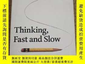二手書博民逛書店The罕見International Bestseller:Thinking,Fast and SlowY44