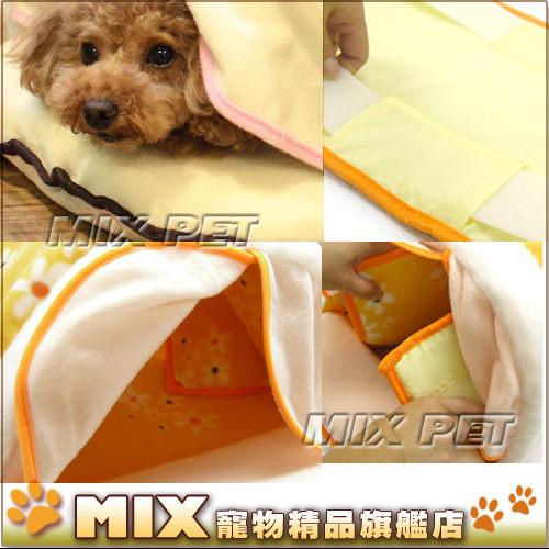 ◆MIX米克斯◆【當季下殺】日本Doggyman.犬貓用保暖小花睡窩【M】溫暖舒適,中型犬貓適用