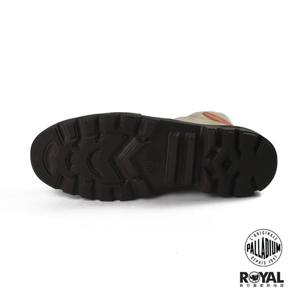 Palladium Pampa 咖啡色 雨傘布 防水 輕量 高統 休閒鞋 男女款 NO.B0937【新竹皇家 76117-249】