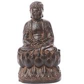 阿彌陀佛{土沉木精雕極品}高7.5 公分 十方佛教文物