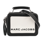 【MARC  JACOBS】The Mini Box 20 Bag相機包(米/黑) M0014506 164