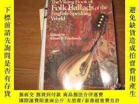 二手書博民逛書店The罕見Viking Book Of Folk Ballads