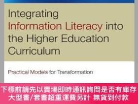 二手書博民逛書店預訂Integrating罕見Information Literacy In The Higher Educati