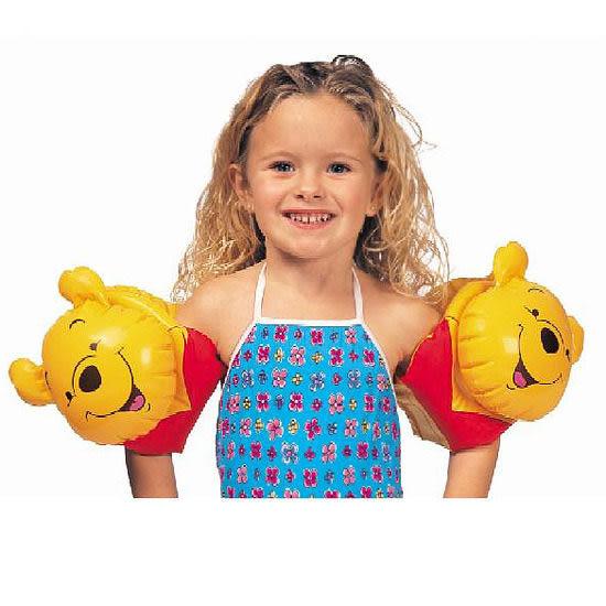[衣林時尚] INTEX 小熊維尼立體手臂圈 58657 29cm x 18cm 3-6歲 OPP袋裝