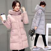 2018新款反季女裝冬季棉衣女中長版學生加厚正韓羽絨棉服外套冬裝