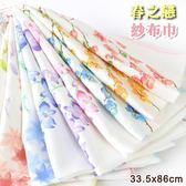 春之戀 紗布手拭 100%棉 紗布巾 日本風 台灣製 海鷗