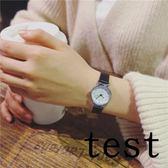 流行女錶小清新品百搭手錶女學生正韓簡約潮流休閒復古(限時八八折)