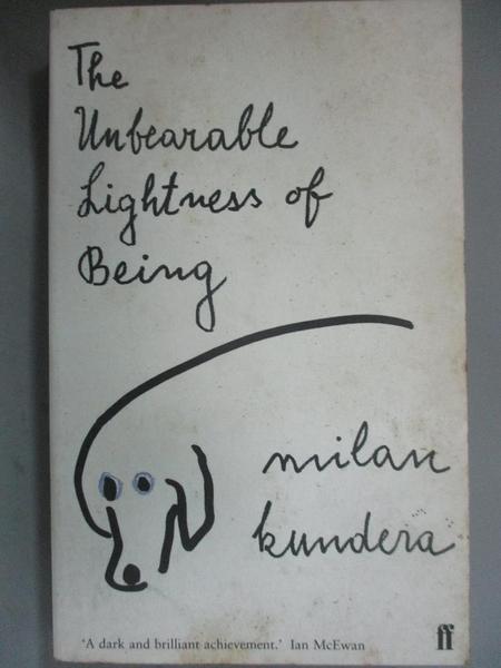 【書寶二手書T4/原文小說_GBN】Unbearable Lightness of Being生命中不可承受之輕_Mil
