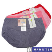 【HANG TEN】舒適柔軟低腰平口褲~6件組(隨機取色)