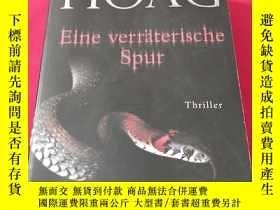 二手書博民逛書店Eine罕見verraterische Spur Thrille