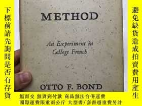 二手書博民逛書店The罕見Reading Method:An Experiment in College French(1953年