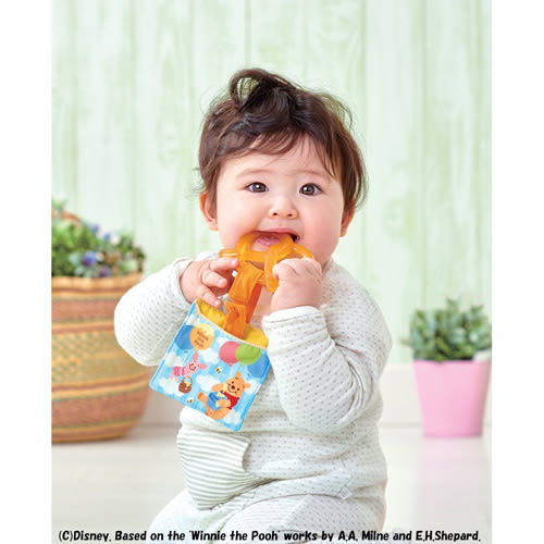 迪士尼幼兒 維尼嬰兒牙齒固定器_ DS86187