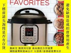 二手書博民逛書店Instant罕見Pot Favorites: Fast, Fresh and Foolproof Recipes