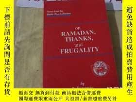 二手書博民逛書店on罕見RAMADAN,THANKS,and FRUGALITY