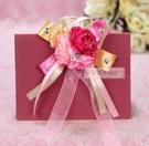 一定要幸福哦~~韓式緞帶胸花(B款) 、禮儀名條、婚禮小物、婚俗用品 、紅包袋