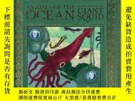 二手書博民逛書店Animals罕見of the Ocean, in Particular the Giant Squid海洋動物: