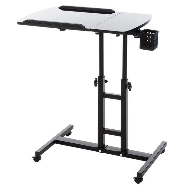 電腦桌 懶人桌 360度床邊升降工作電腦懶人桌 【A013】