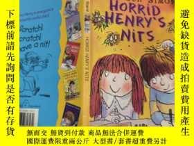 二手書博民逛書店horrid罕見Henry s nits 可怕的。亨利 的屁 話,.Y200392