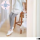 《MA0410》魔術360~涼感假兩件蕾絲孕婦褲裙 OrangeBear