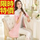 長版針織外套 -時尚風靡走秀款原宿風自信時髦女毛衣外套3色59v1【巴黎精品】