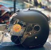 Lubro安全帽,RACE TECH,素色/消光黑