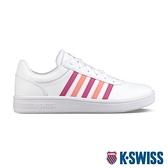 【超取】K-SWISS Court Cheswick S時尚運動鞋-女-白/桃紅