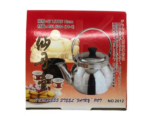 【好市吉居家生活】賓士牌 2012 仙丹壺 不銹鋼茶壺 熱水壺 小茶壺 煮水壺 煮茶壺