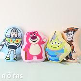 【2D厚抱枕玩具總動員4】Norns迪士尼 正版玩偶 靠枕 娃娃 胡迪 熊抱哥 巴斯光年 三眼怪