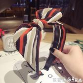髮箍 頭飾髮箍韓國簡約寬邊蝴蝶結日韓髮飾髮窟頭箍韓版百搭女髮卡壓髮 芭蕾朵朵