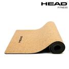 天然軟木專業瑜珈墊 HEAD海德 天然橡膠NB+軟木 5mm