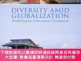二手書博民逛書店Diversity罕見Amid Globalization: World Regions, Environment